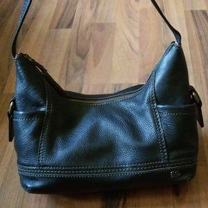 {The Sak} Black Leather Shoulder Bag